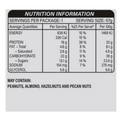 Snickers Protein Bar (Box of 18) - Second To None Nutrition