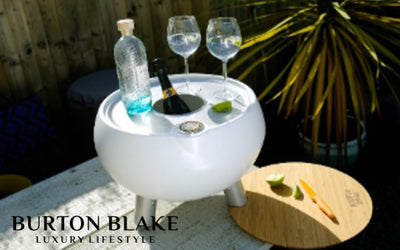 What is the best way to keep Wine and Beer cold during parties? Introducing the Outside Gang Cooler Table