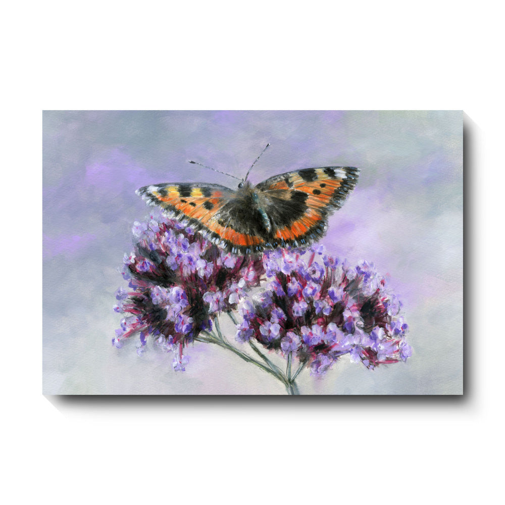 David Pooley Art Small Tortoiseshell Canvas 61 x 41cm