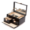 WOLF Chloe Small Jewellery Box - Black by Burton Blake