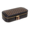 WOLF Chloe Zip Jewellery Box - Black by Burton Blake