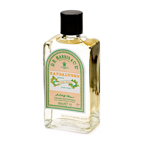 DR Harris Sandalwood After Shave 100ml by Burton Blake