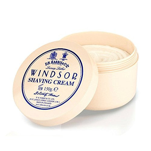 DR Harris Windsor Shave Cream Bowl 150ml by Burton Blake