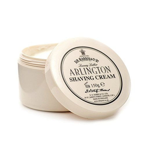 DR Harris Arlington Luxury Lather Shaving Cream Bowl 150g by Burton Blake