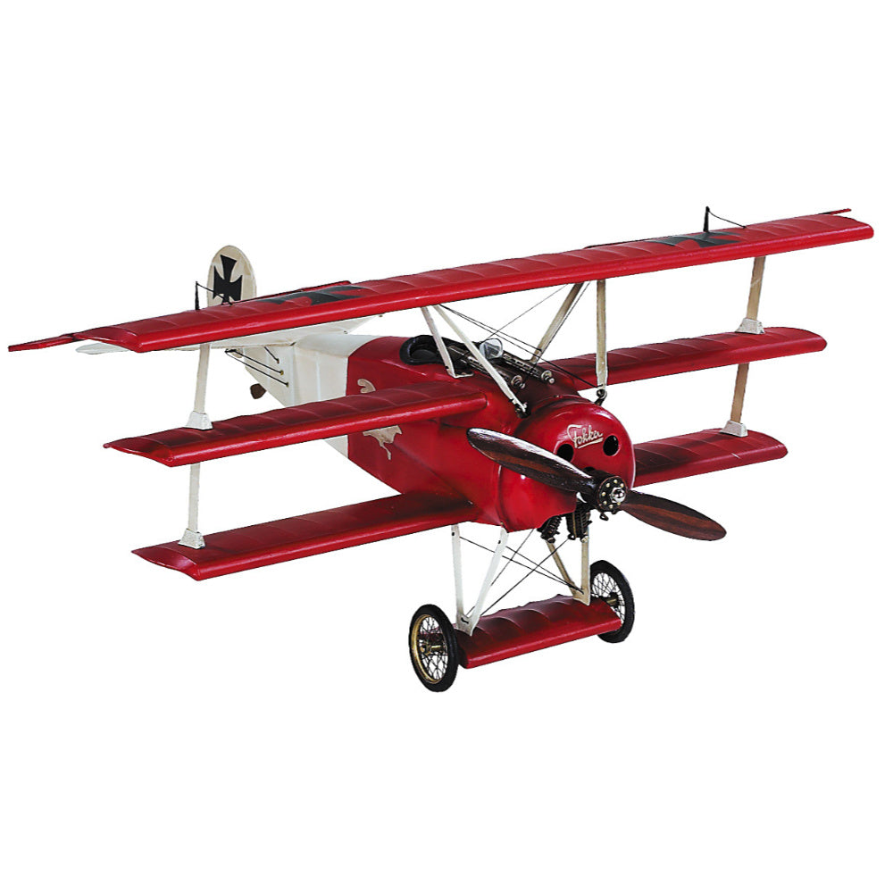 Authentic Models Fokker Triplane Small