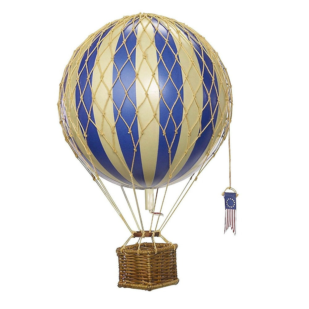 Authentic Models Travels Light Hot Air Balloon - Blue