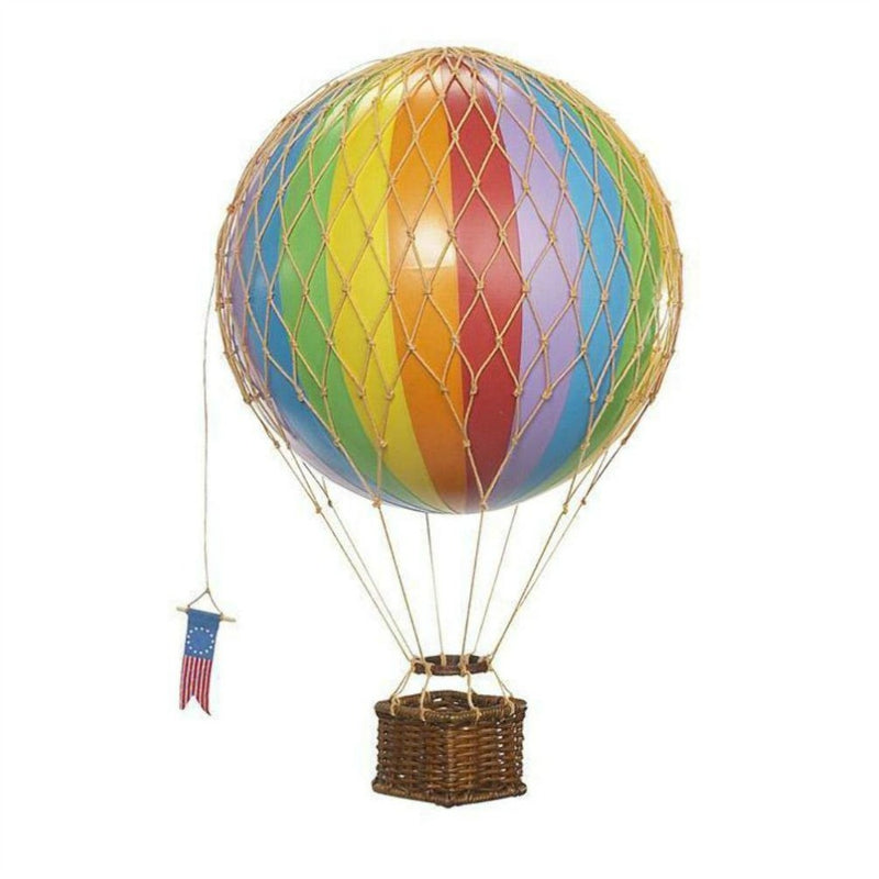 Authentic Models Travels Light Hot Air Balloon - Rainbow