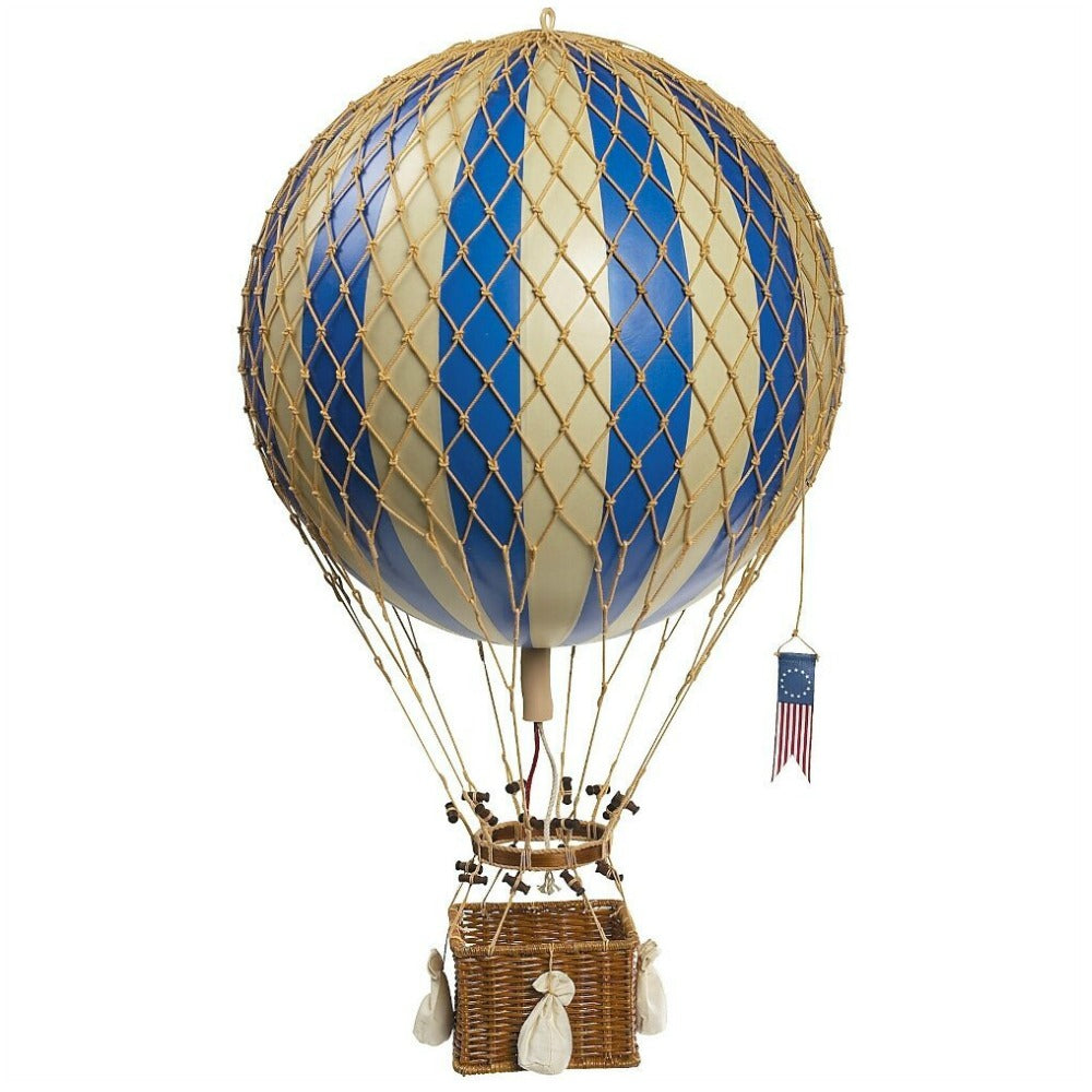 Authentic Models Royal Aero Hot Air Balloon - Blue