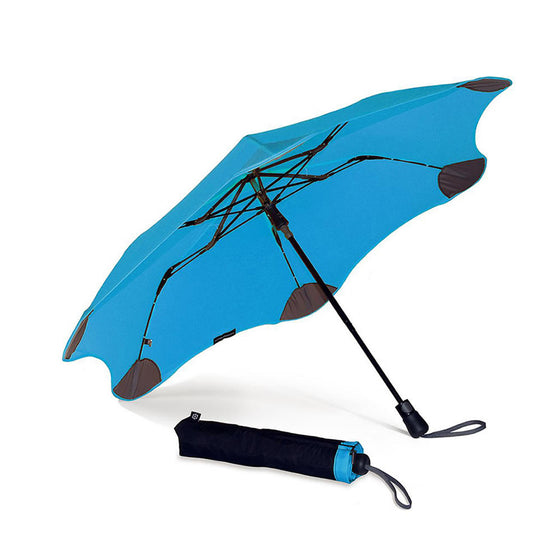 Blunt Umbrellas XS Metro Folding Umbrella - Blue by Burton Blake