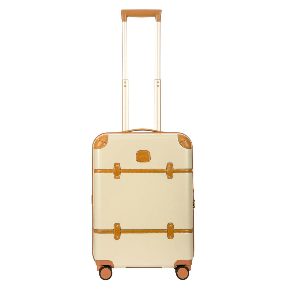 Bric's Bellagio 4 Wheel Cabin Trolley Case 55cm Cream