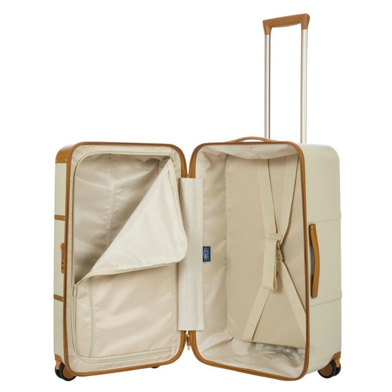 Bric's Bellagio 4 Wheel Travel Trunk 75cm Cream