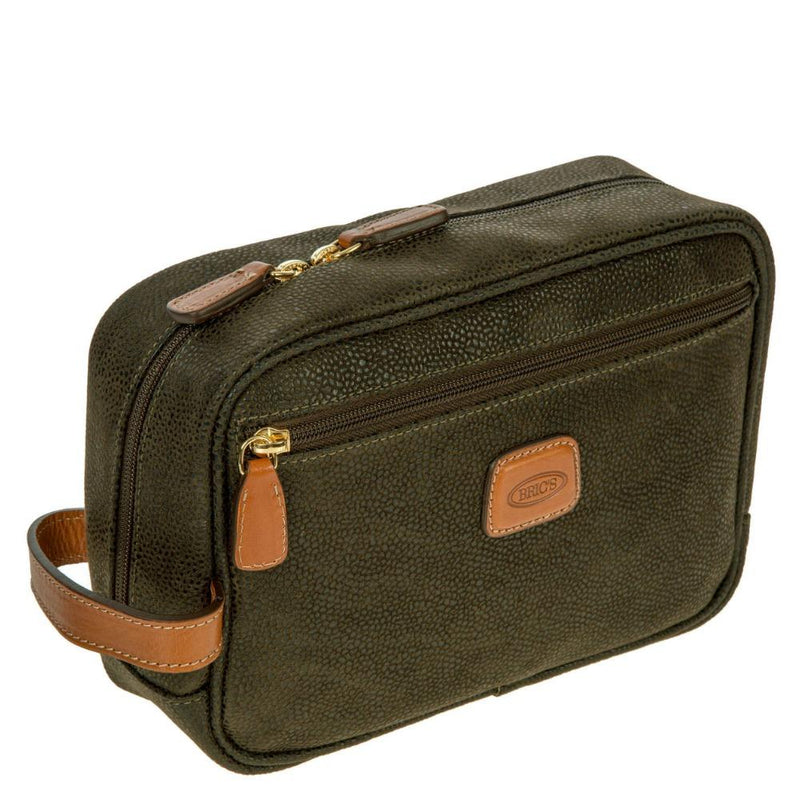 Bric's Life Toiletry Bag Olive