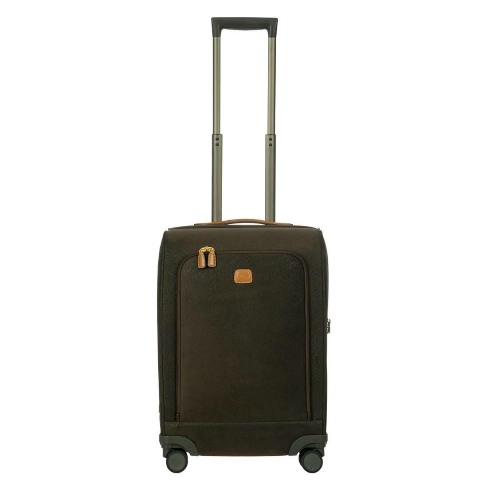 Bric's Life 4 Wheel Cabin Trolley Case 55cm Olive