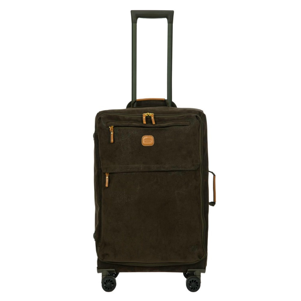 Bric's Life 4 Wheel Trolley Soft Case 65cm Olive