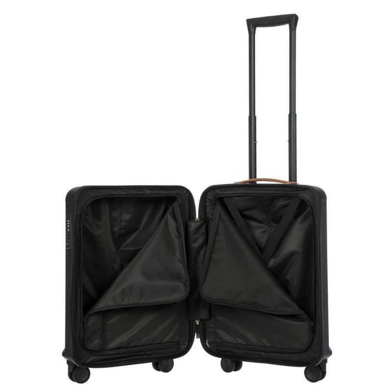 Bric's Capri 4 Wheel Cabin Trolley Case 55cm Black