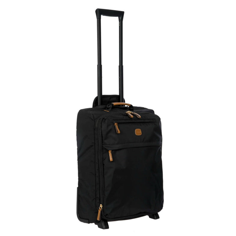 Bric's X-Travel 2 Wheel Soft Expandable Cabin Trolley Case 50cm Black