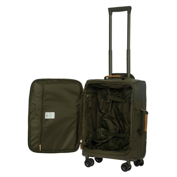 Bric's X-Travel 4 Wheel Cabin Trolley Case 55cm Olive