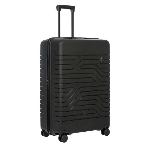 Bric's BY Collection Ulisse Large Expandable 4 Wheel Hard Trolley Case 79cm Black