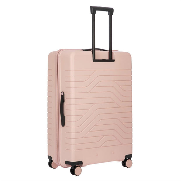 Bric's BY Collection Ulisse Large Expandable 4 Wheel Hard Trolley Case 79cm Pearl Pink