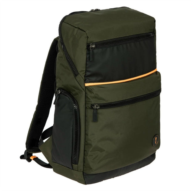Bric's BY Collection Eolo Large Business Backpack Olive