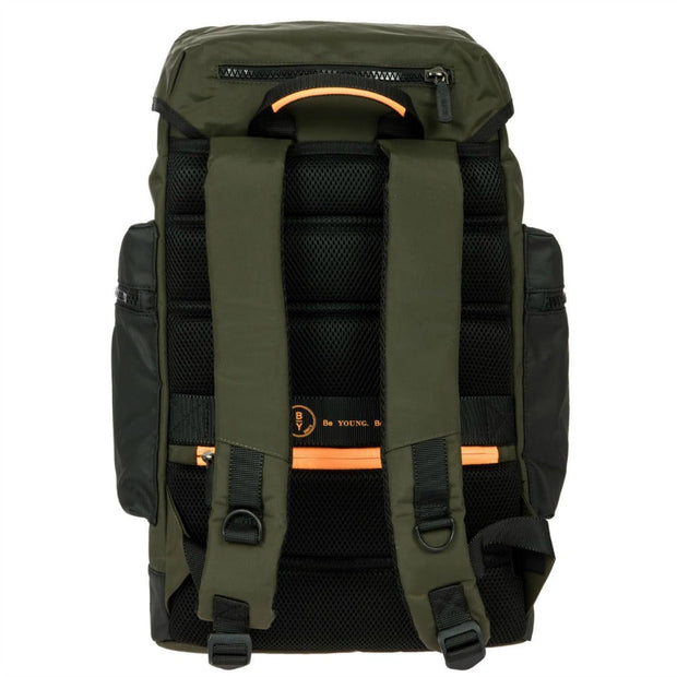 Bric's BY Collection Eolo Small Explorer Backpack Olive