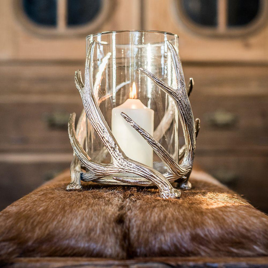 Culinary Concepts Twisted Antler Hurricane Lantern