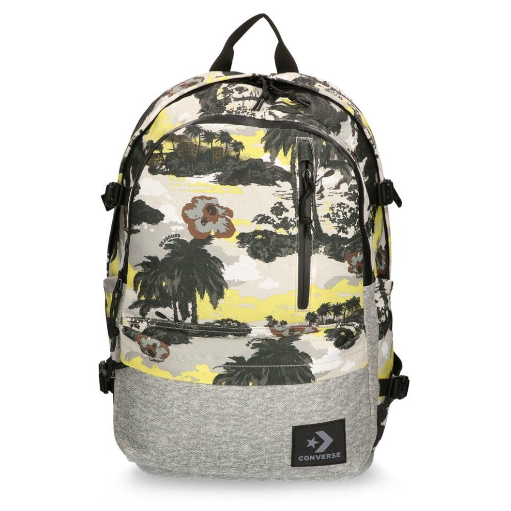 Converse Tropical Grey Straight Edge Backpack Cool Grey