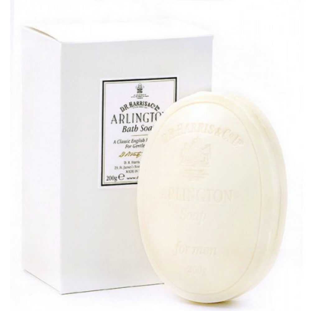 DR Harris Arlington Large Bath Soap - 200g by Burton Blake