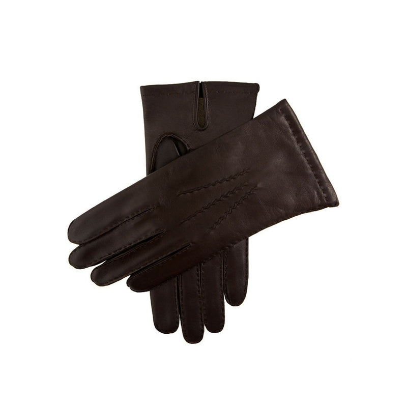 Dents Chelsea Men's Cashmere Lined Leather Gloves Brown