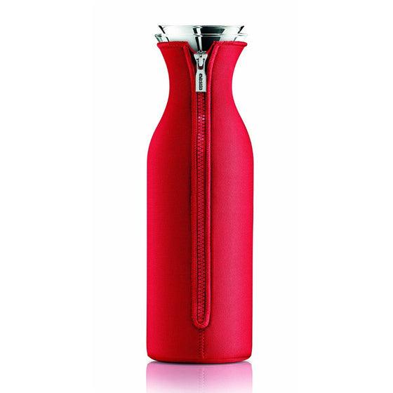Eva Solo Fridge Carafe with Neoprene Cover 1.0L - Strawberry Red