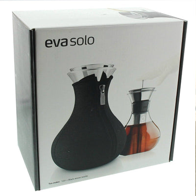 Eva Solo Tea-Maker with Neoprene Cover 1.0L - Black Woven