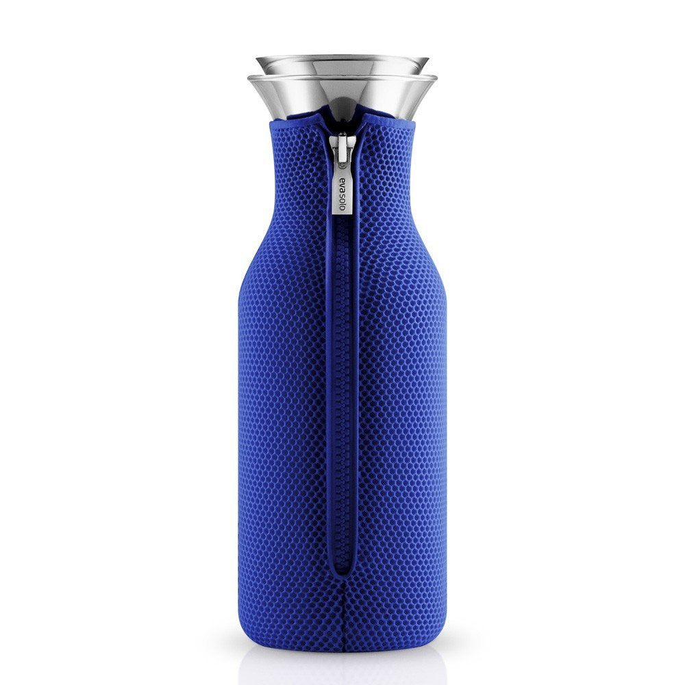 Eva Solo Fridge Carafe with Neoprene Cover 1.0L - Electric Blue