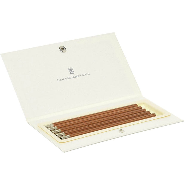 Graf von Faber-Castell Replacement Pocket Pencils - Box of 5 - Brown