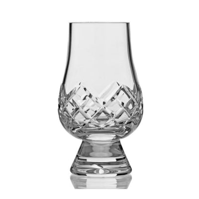 Glencairn Cut Crystal Single Whiskey Tasting Glass by Burton Blake