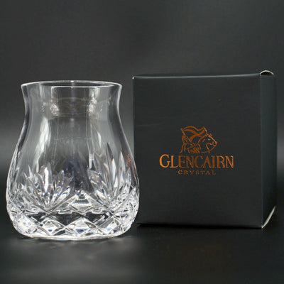 Glencairn Cut Crystal Mixer Glass Pair in Premium Carton
