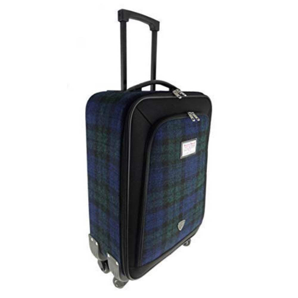 Glen Appin Harris Tweed Cabin Case Black Watch Tartan