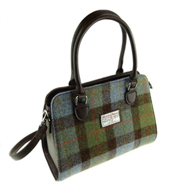 Glen Appin Harris Tweed Handbag Findhorn MacLeod Tartan