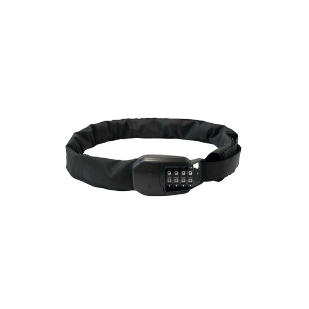 Hiplok SPIN Wearable Bicycle Chain Lock All Black