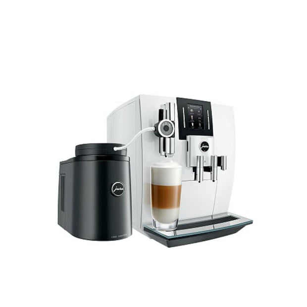 Jura J6 Coffee Machine Piano White