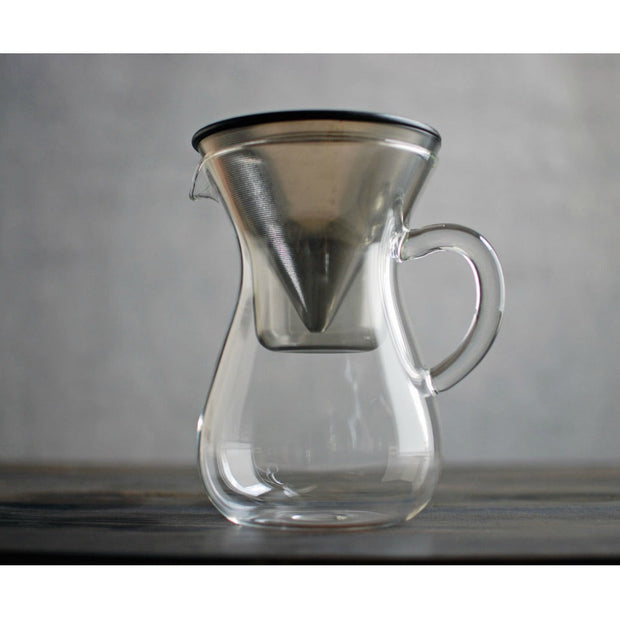 Kinto Slow Coffee Style Coffee Carafe Set 600ml Stainless Steel