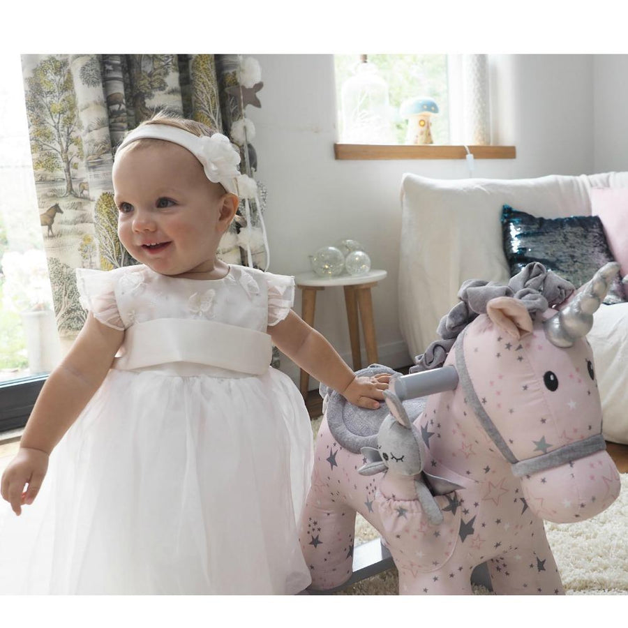 Little Bird Told Me Celeste and Fae Unicorn Rocking Horse