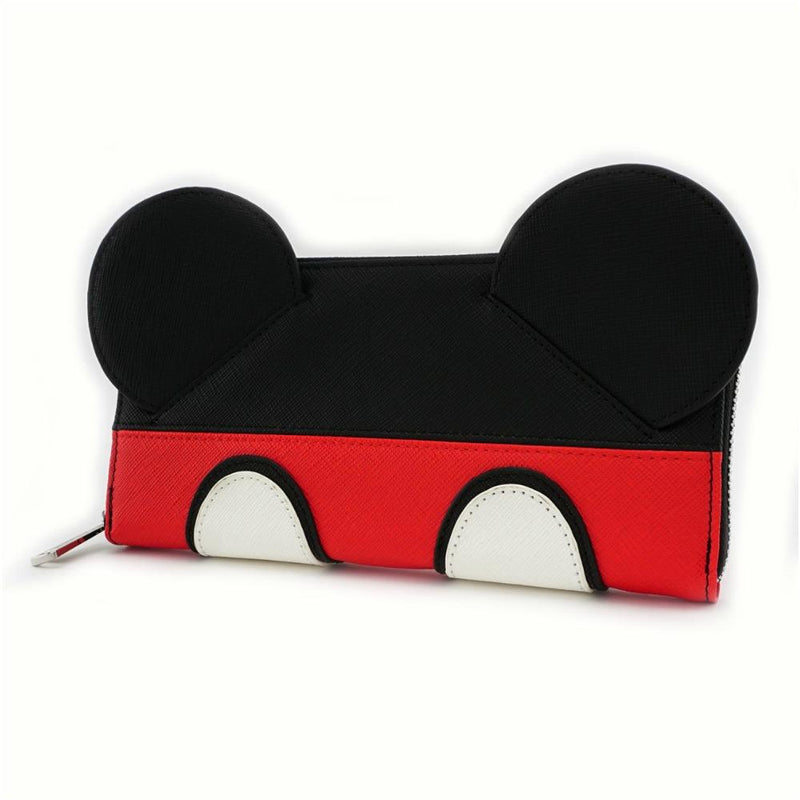 Loungefly Mickey Mouse Suit Zip Around Wallet
