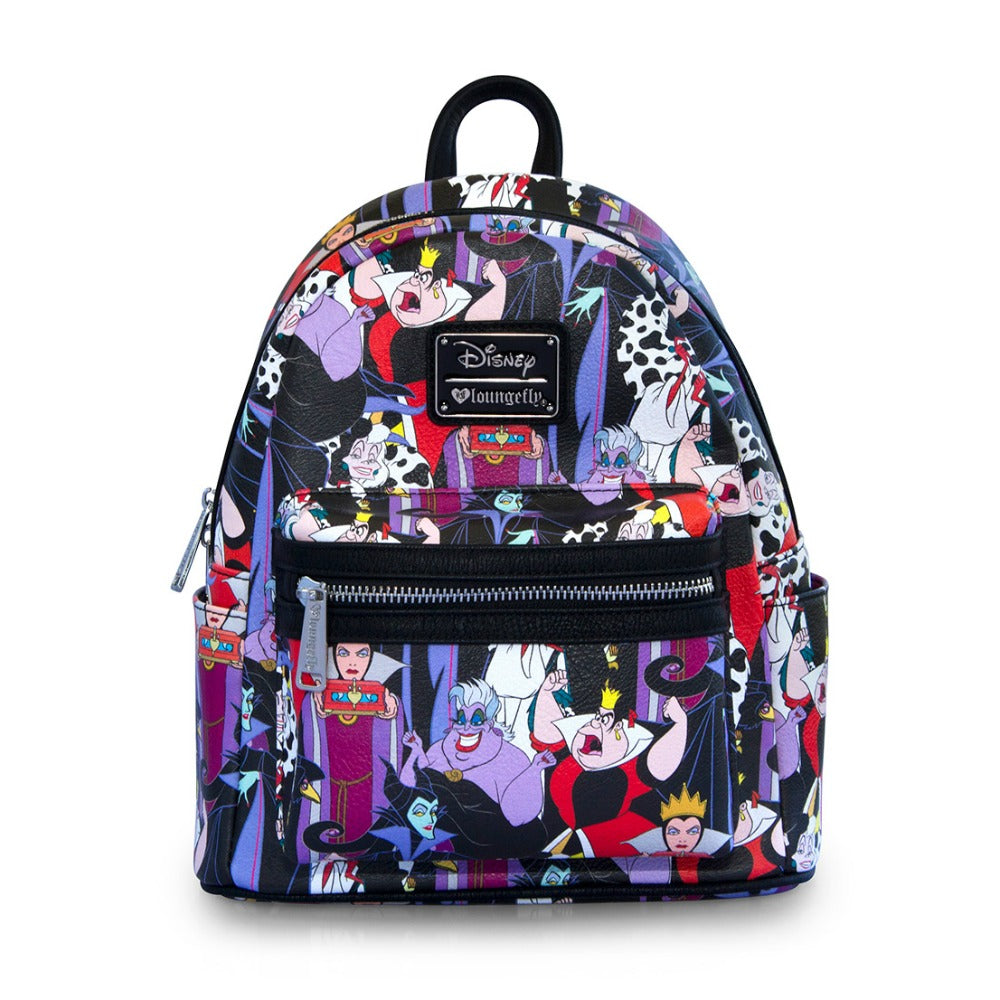 Loungefly Villains AOP Mini Backpack
