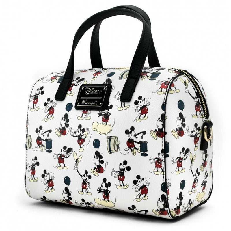 Loungefly Mickey Mouse True Original Print Duffle Bag