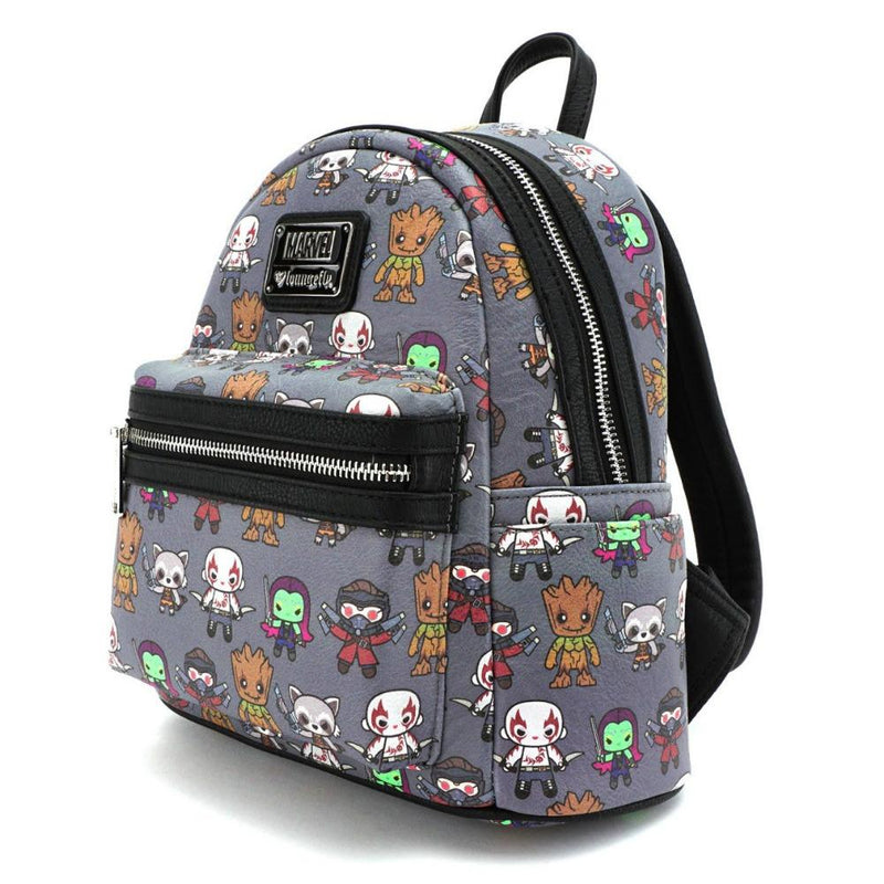 Loungefly Guardians of the Galaxy Kawaii AOP Mini Backpack