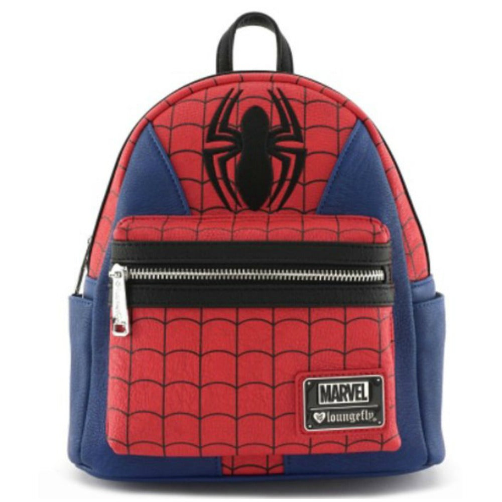Loungefly Marvel Spiderman Suit Mini Backpack