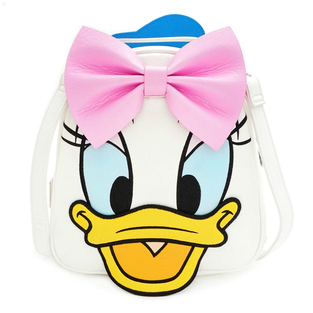 Loungefly Disney Donald and Daisy Reversible Mini Backpack