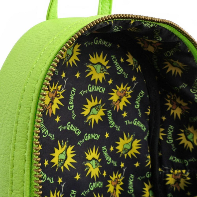 Loungefly Dr Seuss The Grinch Mini Backpack