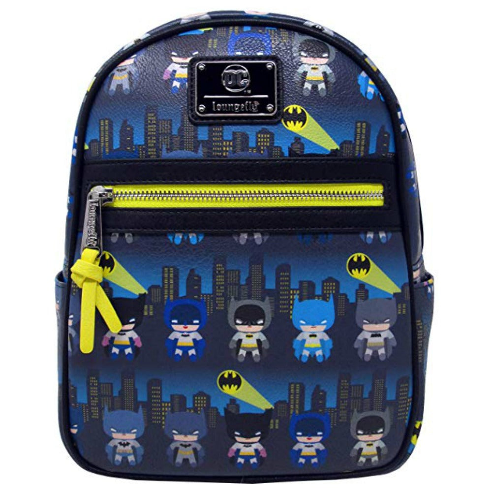 Loungefly DC Comics Batman 80th Anniversary AOP Mini Backpack