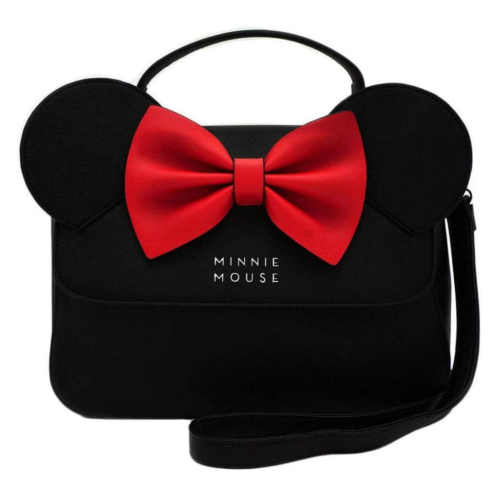 Loungefly Disney Minnie Mouse Ears and Bow Cross Body Bag